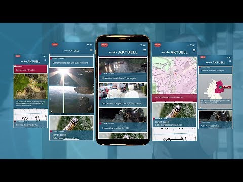 video review of MDR AKTUELL App
