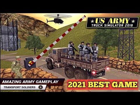 US Army truck driving 3d 2021 | Best Army game 2021 | Android gameplay #1