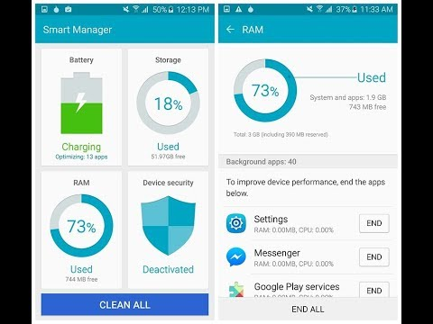 DEVICE SECURITY ,SMART MANAGER , RAM CLEAN , STORAG , BATTERY SAVE AND ALL DEVICE SCAN