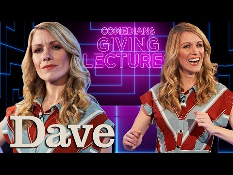 Really Achieving Your Childhood Dreams with Rachel Parris   Comedians Giving Lectures   Dave