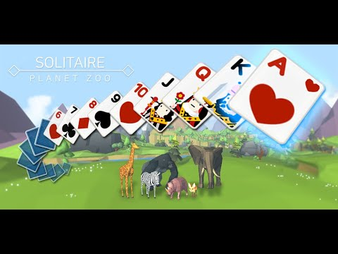 video review of Solitaire : Planet Zoo