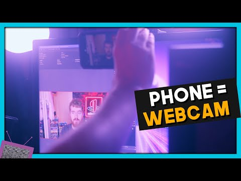 Your Android phone is now a WIRELESS webcam w/ NDI HX Camera for Android!   WE DID IT!