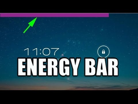 Android App: Energy Bar - Cool Alternative Battery Icon