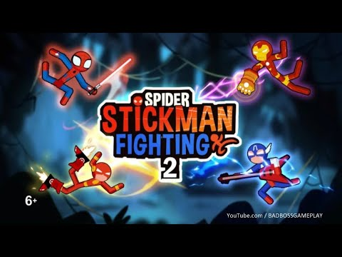 Spider Stickman Fighting 2 - Android Gameplay HD