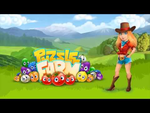 video review of Funny Farm match 3 Puzzle game!
