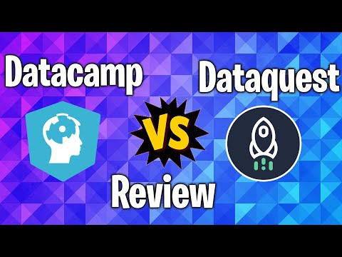 Datacamp and Dataquest Review (Arabic)