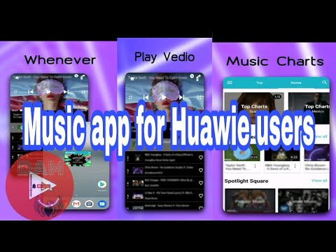 Music App for Huawei Users|Blue Music