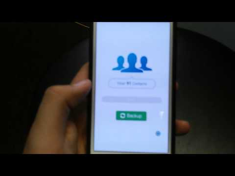 Best Free phone contact backup app HD