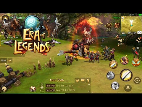 Era of Legends Gameplay (Android/iSO) - Open WOrld MMORPG
