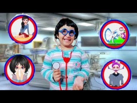 Doctor game for kids - Emergency injection simulator - Educational app - cartoon -game -Doctor kids