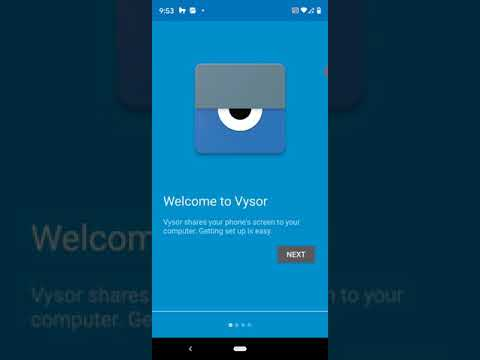 Connect Android to Win 10 using Letsview or Vysor