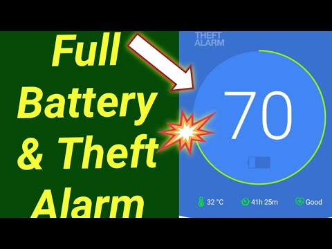 Full Battery & Theft Alarm App