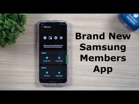 Must Have Exclusive Samsung App - Brand New Samsung Members App