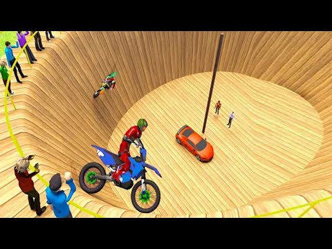 Well of Death Stunts Simulator । New Bike Stunt Games । Android Gameplay