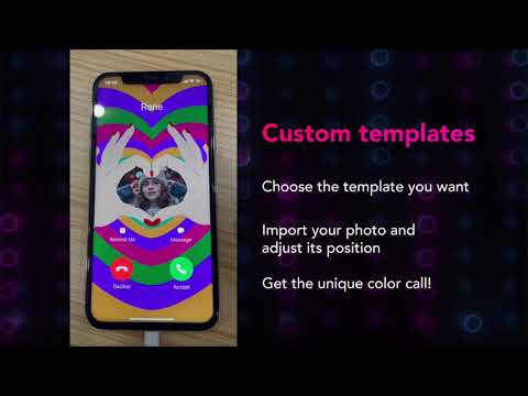 The Demonstration of ColorMe Call