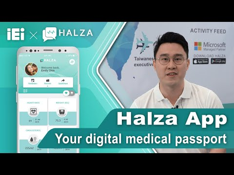 Store,Track & share your medical records Medical Tourism Your Digital Medical Passport - Halza App