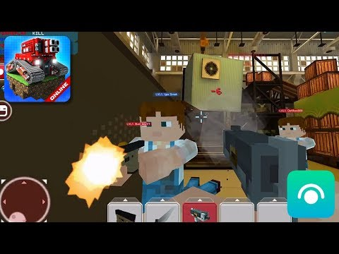 Blocky Cars Online - Gameplay Trailer (iOS, Android)