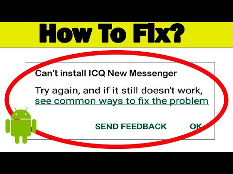 Fix Can't Download ICQ New Messenger App Error On Google Play Store Problem - Fix Can't Install