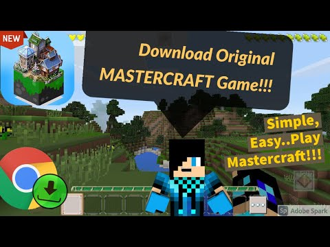 How to install Original MASTERCRAFT Game!!!(Android and iOS) Simple, Easy and Secure!