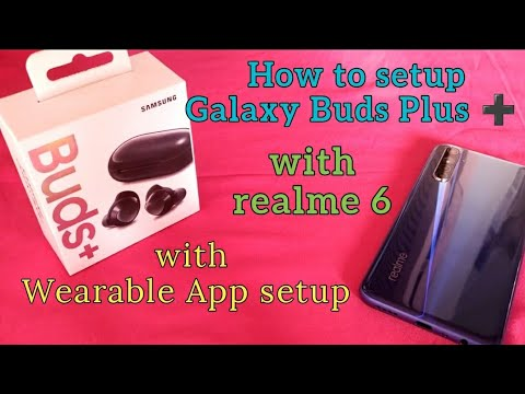 How to connect galaxy buds bluetooth to your realme android phone