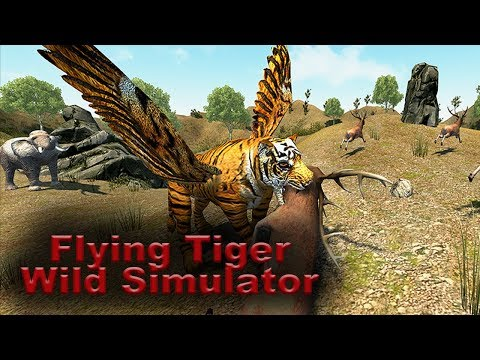 Flying Tiger - Wild Simulator - Have you ever wondered what it is like to be real flying tiger?