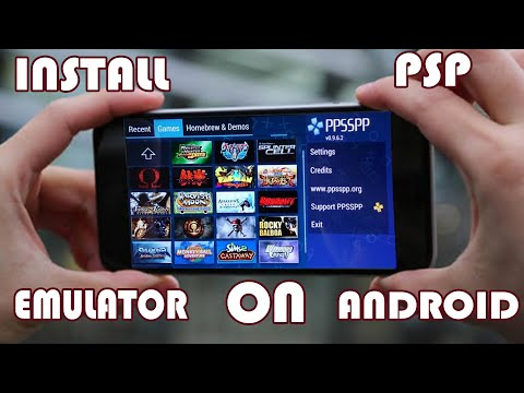 How To Download and Install PSP(PPSSPP) Emulator on Android with Games.