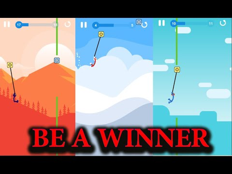 Stickman Stunt Hero : Hook And Swing | Full Android Gameplay | best android games 2021