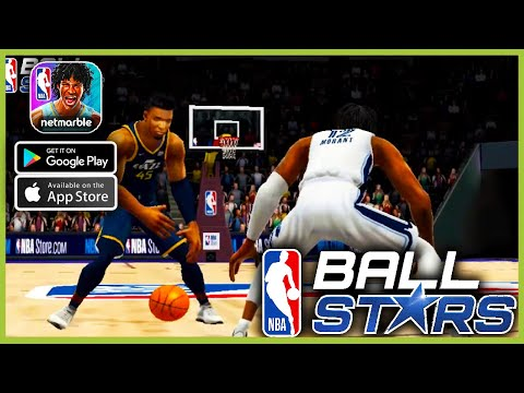 NBA Ball Stars Global launch Gameplay (Android, iOS)