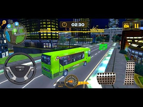 City Bus Simulator 3D 2017 - Android/iOS Gameplay