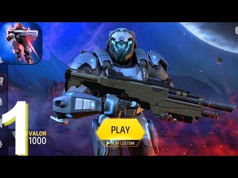 Armajet Online PVP Shooter Walkthrough Part 1 - Android iOS Gameplay HD
