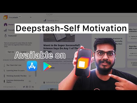 Deepstash-Self Motivation | Daily motivation and Knowledge | Short Articles
