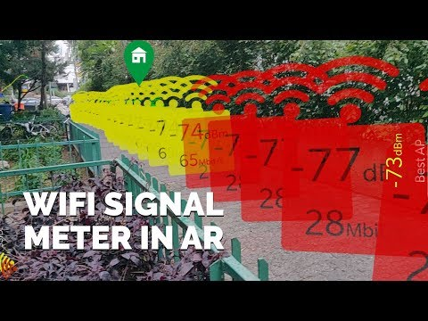 WiFi Signal Strength Meter Mapping AR Apps for Android
