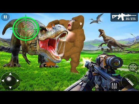 Wild Dino Hunt :Wild Animal Hunting Shooting Games #1 - Mobile Games/Android