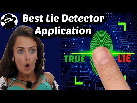 Lie Detector Android Application to Find out the Real Truth . Amazing Application