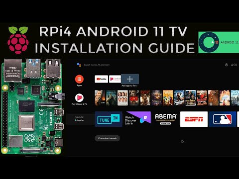 How to install Android 11 TV and Google Play Store on Raspberry Pi 4