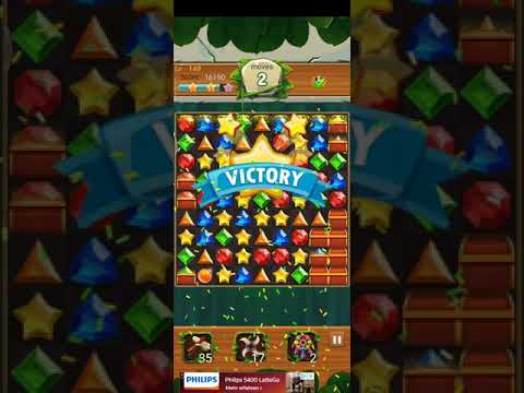 Jewels Jungle 💎 - Jewels & Gems Match 3 Puzzle 2021 Level 148 ⭐⭐ no Booster 👑 Android Gameplay ✅