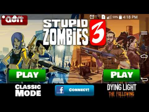 Stupid Zombies 3 App Gameplay & Review