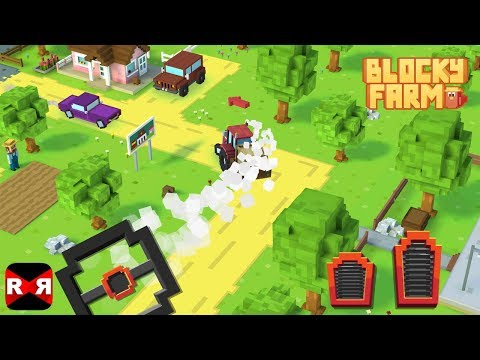 Blocky Farm - iOS / Android - Worldwide Release Gameplay