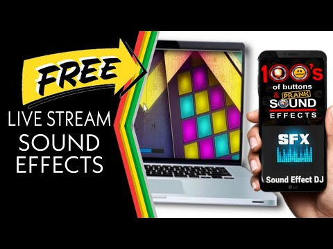 Live Stream FREE Sound Effects (Laptop/PC & Mobile Phone)