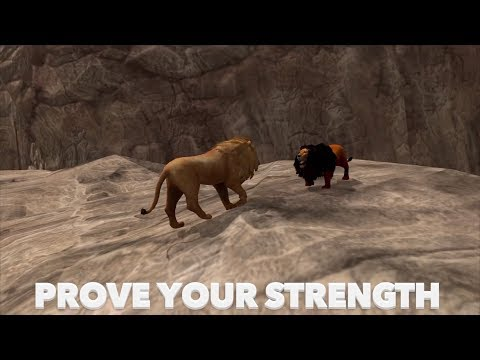 🦁Furious Lion Vs Angry Lion King👑Boss Fight , Ultimate Lion Simulator