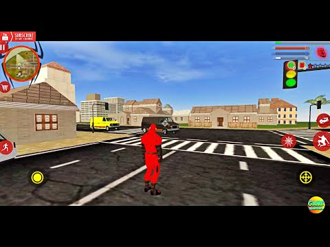 NEW GAME Spider Rope Hero Ninja Crime City: Spider New City / Android GamePlay FHD
