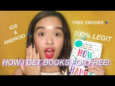 How I get Books for Free! (Ebooks) IOS/ANDROID 📚 | Kim Loren