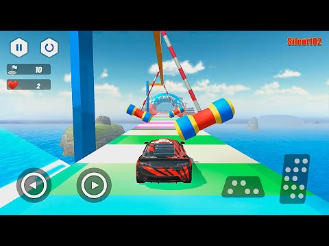 Ultimate Car Stunts 3d - Mega Ramp Stunt Car Games #2 - Android Gameplay