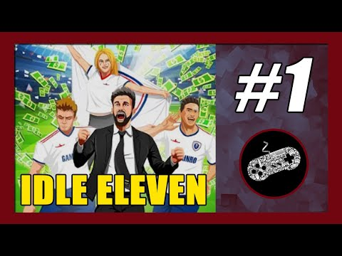 Idle Eleven Gameplay Walkthrough (Android) Part 1   League Preparation