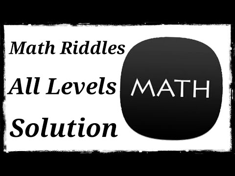 Math Riddles Gameplay ||All Levels|| 720p