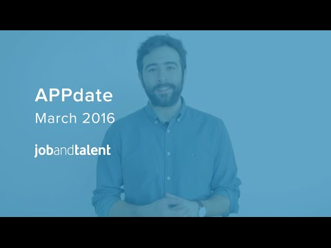 APPdate! New Features on March 2016