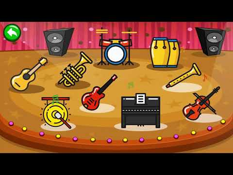 Instrumental music game for kids - Piano Kids Music & Songs
