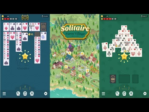 Solitaire Farm Village Android Gameplay