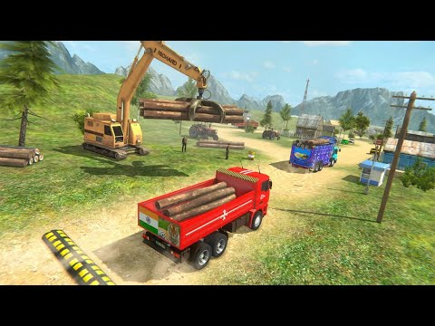 Indian Cargo Truck Driver Simulator Game -Forklift | Truck Game india | Part 1