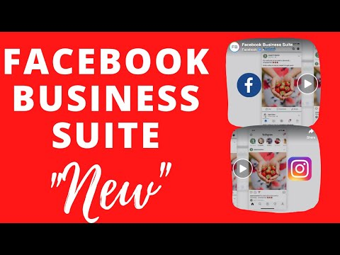 NEW FACEBOOK BUSINESS SUITE for Facebook Business Pages Tutorial on Mobile